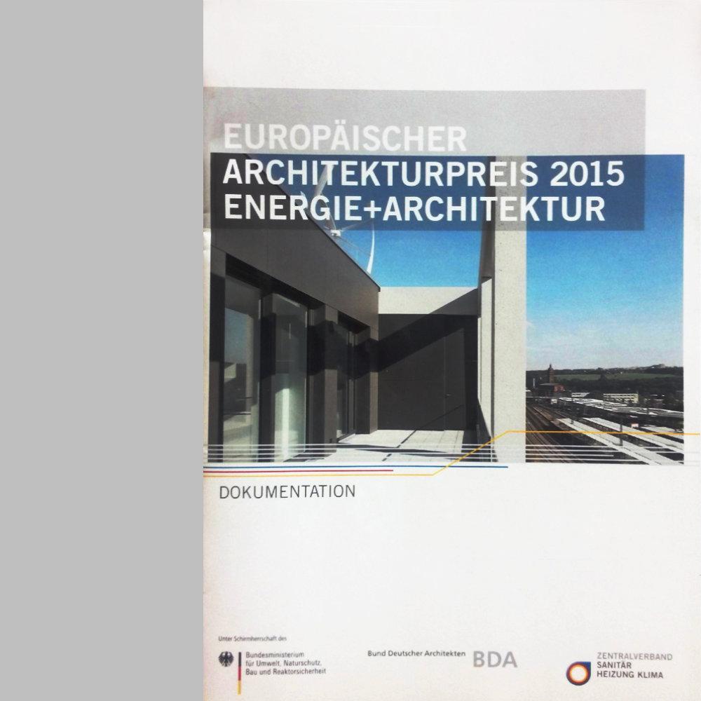 europäischer architekturpreis 2015, dokumentation