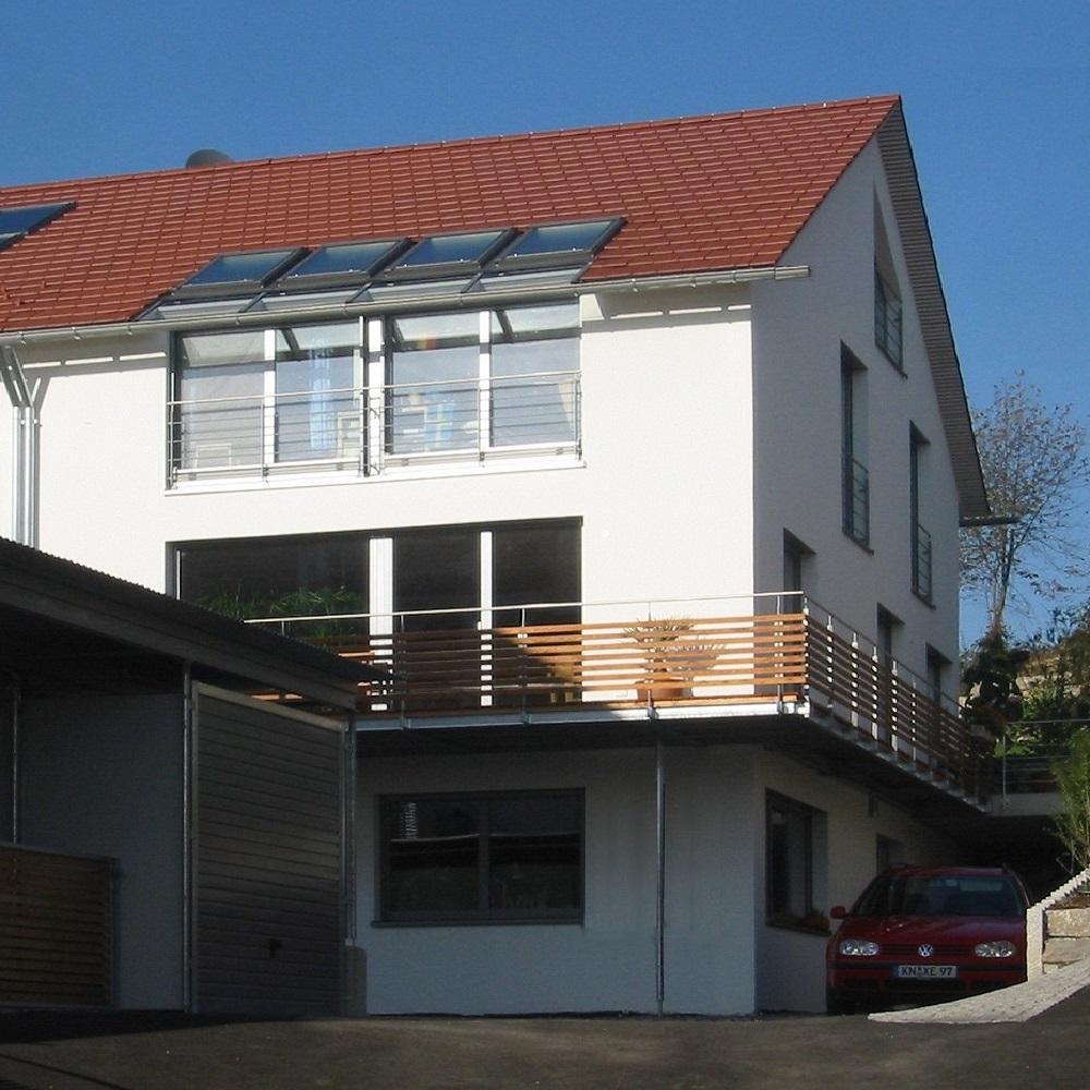 doppelwohnhaus sb, allensbach