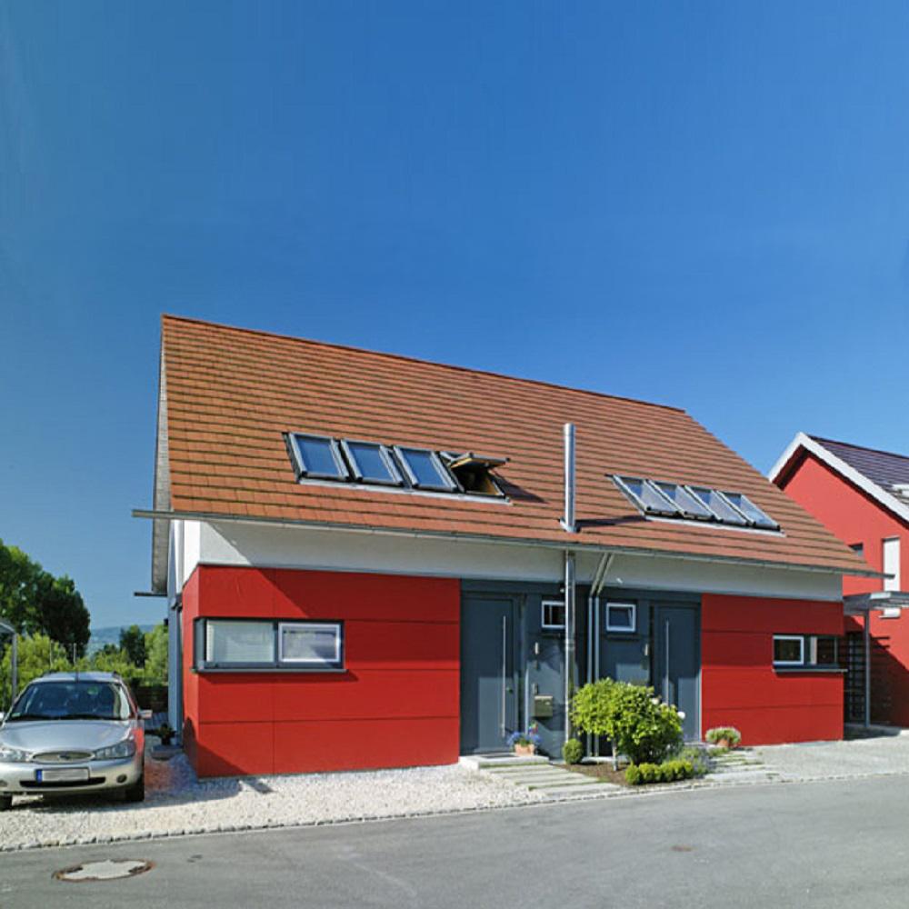 niedrigenergie doppel-wohnhaus, allensbach